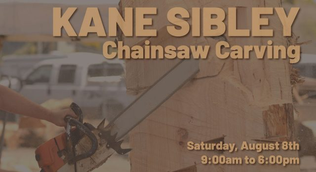 Chainsaw Carving by Kane Sibley