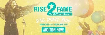 Rise2Fame Youth Talent Search 2020